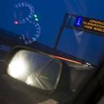 Csúszásveszély: csak óvatosan az M3-ason!