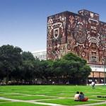 A nap képe: különleges, színes épületben tanulnak a mexikói egyetemisták