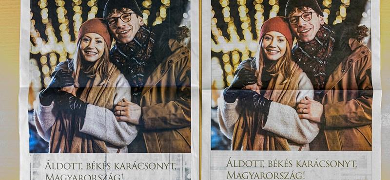 Migránsozás és sorosozás után most a karácsonyt reklámozza a kormány