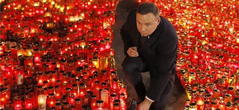 Kielce 70: a lengyel elnök kemény szavakkal ítélte el az idegengyűlöletet és antiszemitizmust