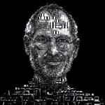 Steve Jobs portrék, Apple-termékekből összerakva