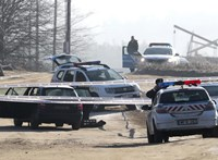 Erdőkertesi késelés: hazafelé vitték a rendőrök a támadót, amikor előkerült a kés
