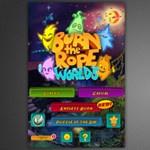 Ma ingyen az App Store-ban: Burn the Rope Worlds