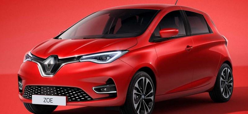 Itt az új Renault Zoe: nagyobb akkumulátor, erősebb motor