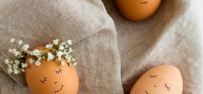 Ilyen egyszerűen még nem készült el a húsvéti tojás - 5 tipp