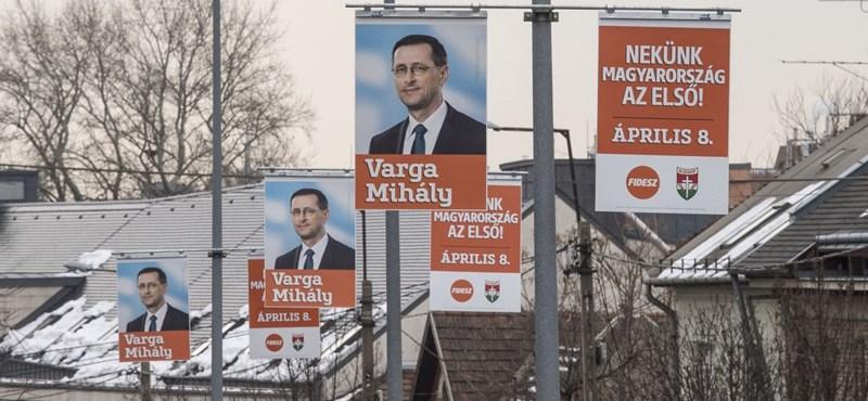 A DK szorongathatja meg Varga Mihályt, körzetében Szél Bernadett esélyes kihívó