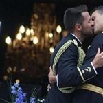 Megvolt az első meleg rendőrházasság Spanyolországban – fotók