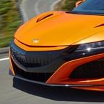 Új hibrid szupersportautó, íme a gyorsabb 2019-es Honda NSX