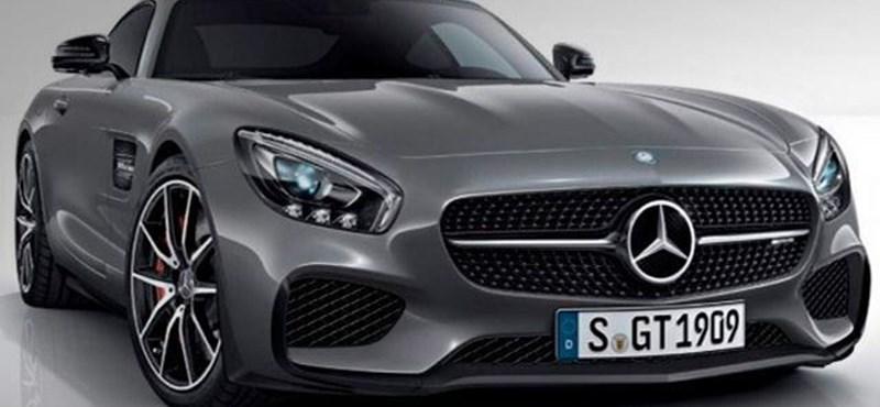 Különleges változat érkezik a Mercedes AMG GT-ből Párizsban