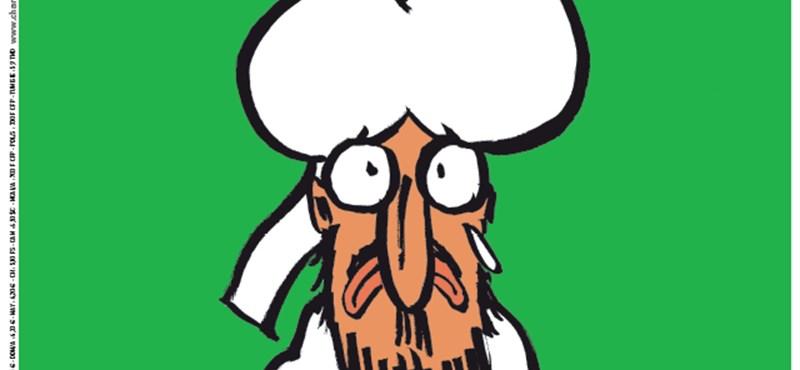 Fotó: Mohamed próféta a Charlie Hebdo címlapján kér elnézést mindenkitől