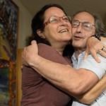 Neje kiszorította a szuszt a friss Nobel-díjasból - fotó
