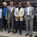 Schwarzenegger volt riválisaival pózolt – fotó