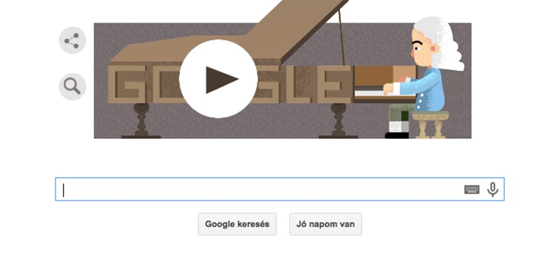 Ma megőrjítheti a Google-logóját