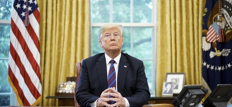 Trump szerint Kína ellene akar beavatkozni a közelgő választásokba