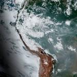 Ennek az erdőtűznek a füstje és a lángja is nagy: odalehetnek az Andok gleccserei