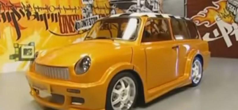 Egy kis nosztalgia: ezt lehet kihozni egy Trabantból – videó