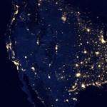 Sosem látott éjszakai képet közöltek a Földről