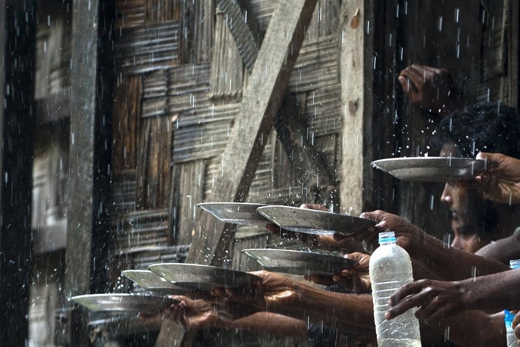 afp.15.06.04. - Rakhine, Mianmar: Migránsok a mianmari Rakhine településen - 7képei, migráns, bevándolró, menekült