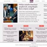 Archívumként támadt fel a nol.hu