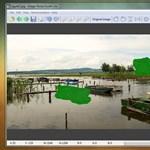 Ingyenes képméretező szoftver, tartalomfüggő átméretezési funkcióval