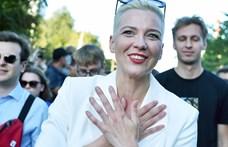Vádat emeltek Maria Kalesznyikava fehérosz ellenzéki vezető ellen