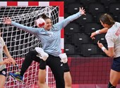 He was kicked out by the Norwegians, not among the four in the Tokyo handball team