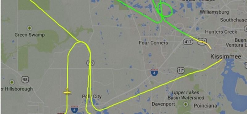Péniszt rajzolt az égre egy repülőgép – fotó