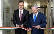 Szijjártó Netanjahuval együtt nyitott magyar képviseletet Jeruzsálemben