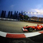 Alonso rápirított a Ferrarira a szingapúri időmérő után