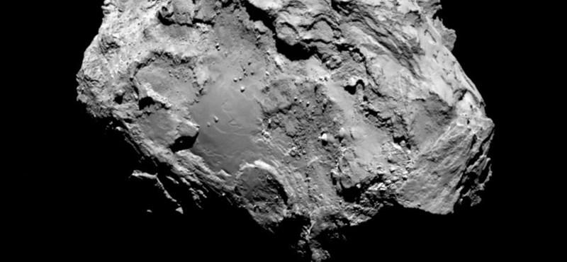 Már stabilan áll a Rosetta leszállóegysége az üstökösön