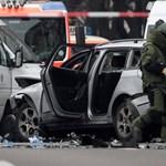 Autóba rejtett pokolgép robbant Berlinben
