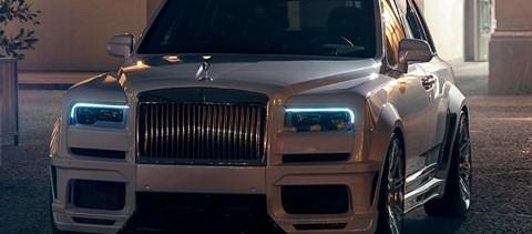 Túladagolás: 685 lóerős lett a Rolls-Royce első szabadidőautója