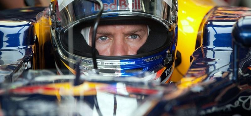Vettel nyerte a monzai futam második szabadedzését