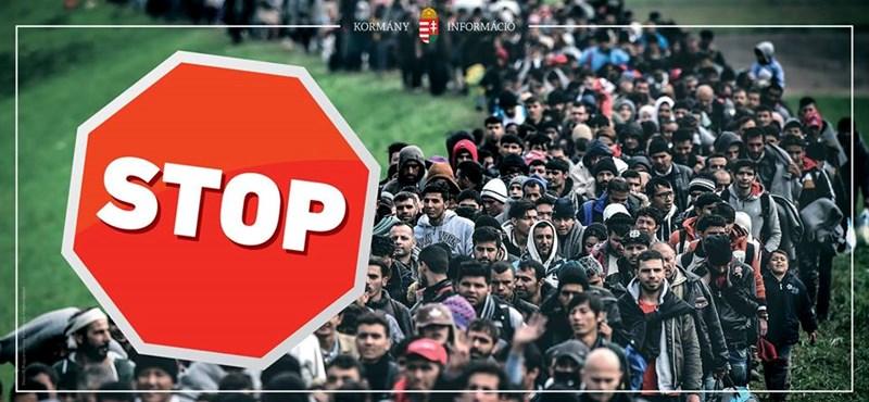 Az NVB-nek nincs baja a rasszista STOP-plakátokkal