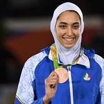 Irán egyetlen női olimpiai érmes sportolója külföldre költözött