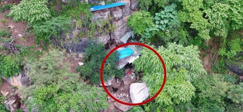 17 évig bujkált egy barlangban egy szökött rab Kínában
