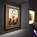 Csak pár napig lehetett nyitva a világ legnagyobb Raffaello-kiállítása