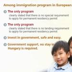 Húszezer bevándorló érkezett Magyarországra a kötvényprogrammal