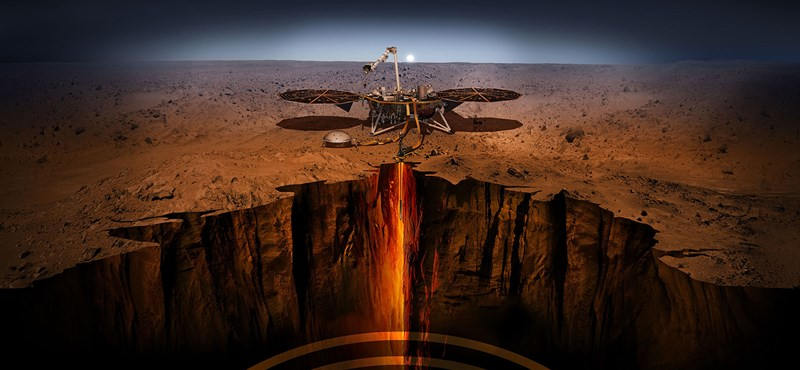 """Nagy a szél a Marson, """"sapkát"""" kellett húznia az Insight űrszondának"""