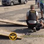 Bajai drogkereskedőkre csapott le a TEK, videókon az akció