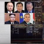 Orbán Kim Dzsong Unnal került egy lapra John Oliver műsorában