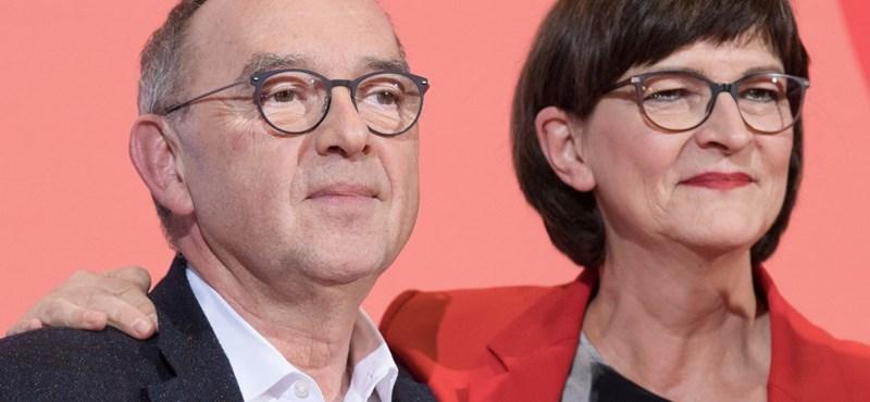 A nagykoalíció bírálói nyerték a német szociáldemokraták elnökjelölő pártszavazását