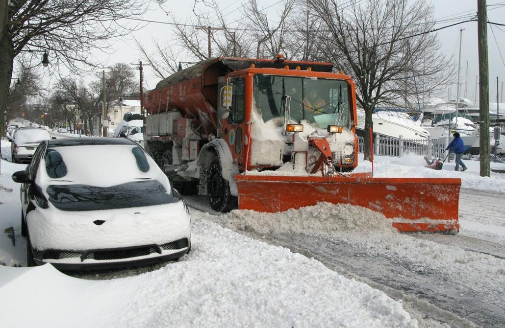 afp.14..01.03. - New York, USA: havazás, hóesés, tél