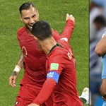 Uruguay-Portugália: Cavani, add már fel! Ronaldo, lődd be!