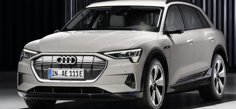 Komoly az érdeklődés az első tisztán elektromos Audi iránt
