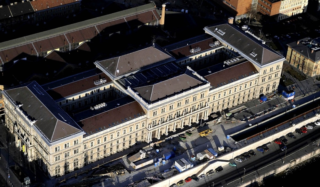 Tavaszi Budapest a levegőből - Nagyítás-fotógaléria, légifotó, városkép, budapest