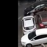 Teljesen begőzölt egy autós, mert elé parkoltak – videó