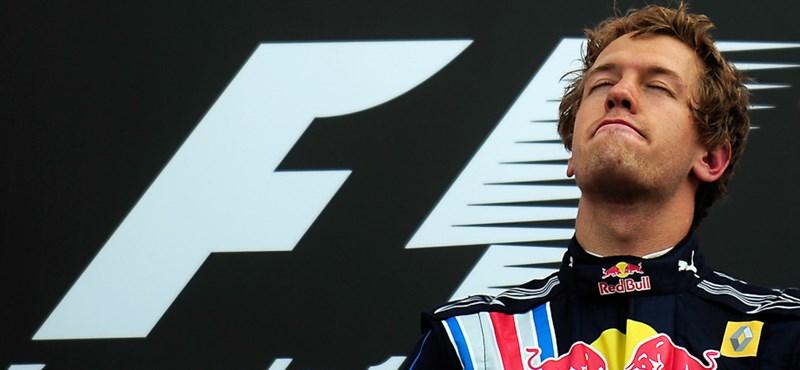 Vettel volt a leggyorsabb az utolsó szabadedzésen