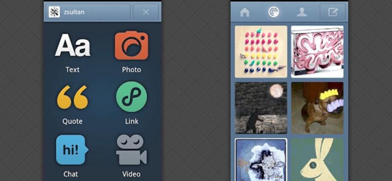 Teljesen megújult a Tumblr androidos kliense
