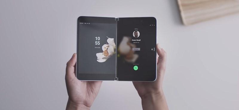 Sok részlet kiszivárgott a Microsoft kétkijelzős, androidos telefonjáról – ezt tudja majd a Surface Duo